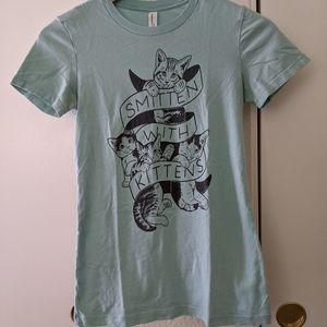 Kitten Lady Smitten with kittens shirt